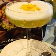 Chilled Thai Pandan Sago Pudding