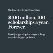 Westpac Future Leaders Scholarships